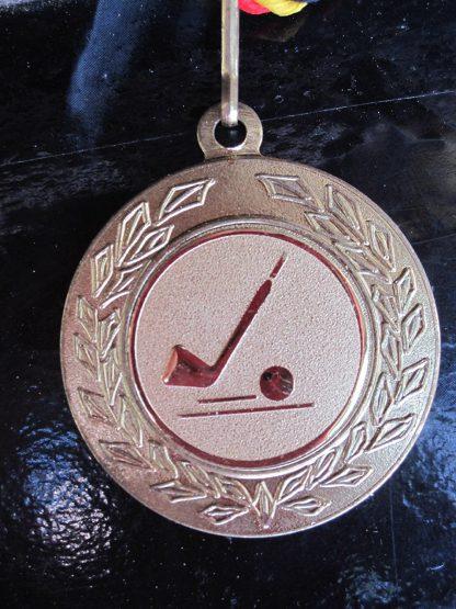 3er Set Minigolfmedaillen Gold, Silber, Bronze