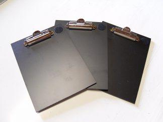 Minigolf Schreibunterlage aus hartem Kunststoff 3 Stück