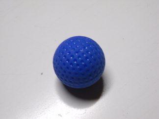 Minigolfbälle 1 blauer genoppter Anlagenball