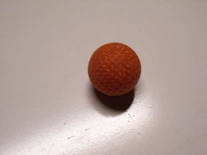 Minigolfbälle 1 oranger genoppter Anlagenball