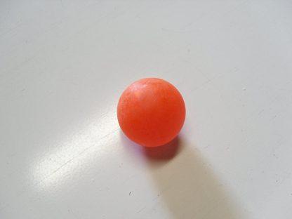 Minigolfbälle 1 oranger glatter Anlagenball