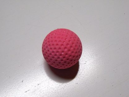 Minigolfbälle 1 rosa genoppter Anlagenball