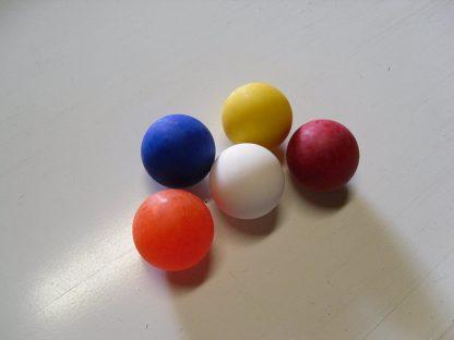 Minigolfbälle 5 glatte Anlagenbälle