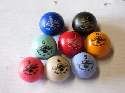 Minigolfbälle 8er Set Spezialbälle für Hobbyspieler