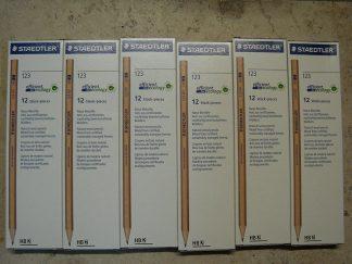 Natur-Bleistifte 72 Stück Staedtler HB 2