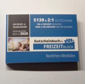 Freizeitblock 2020 Nordrhein-Westfalen