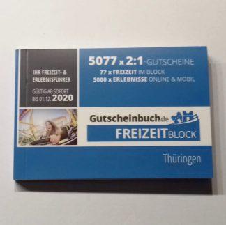 Freizeitblock 2020 Thüringen