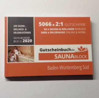 Saunablock 2020 Baden-Württemberg Süd