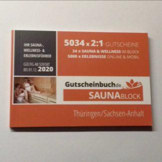 Saunablock 2020 Thüringen - Sachsen-Anhalt