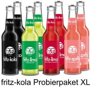 fritz-kola Probierpaket XL
