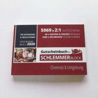 Schlemmerblock 2020 Chemnitz & Umgebung