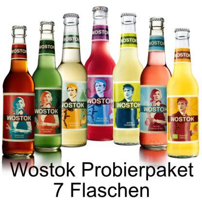 Wostok Probierpaket - 7 Flaschen