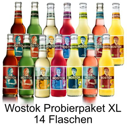 Wostok Probierpaket XL - 14 Flaschen