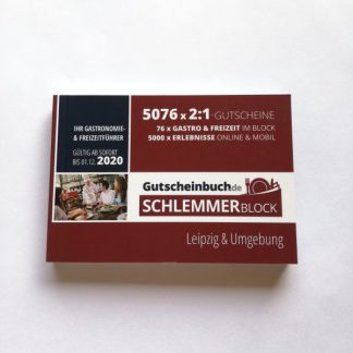 Schlemmerblock 2020 Leipzig & Umgebung