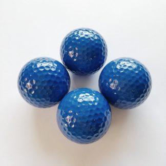 Adventure Golfbälle blau, Minigolfbälle 4 Stück