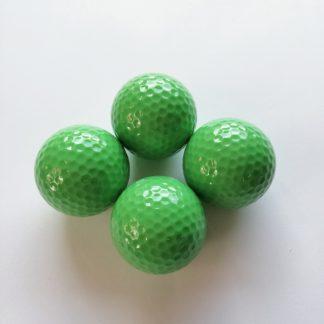 Adventure Golfbälle grün, Minigolfbälle 4 Stück