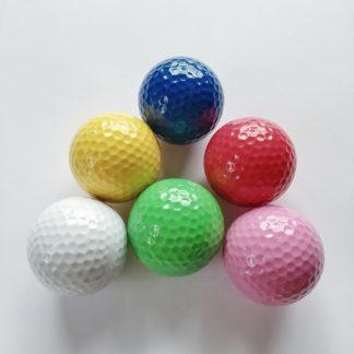 Adventure Golfbälle in versch. Farben, Minigolfbälle 6 Stück