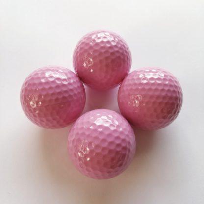 Adventure Golfbälle rosa, Minigolfbälle 4 Stück
