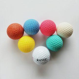 Minigolfbälle 7er Set mit unterschiedlichen Bällen