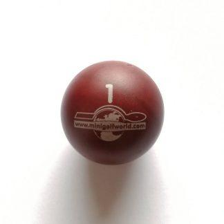 Minigolfball Nr. 1, Spezialball für Hobbyspieler