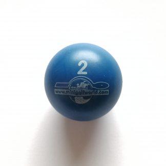 Minigolfball Nr. 2, Spezialball für Hobbyspieler