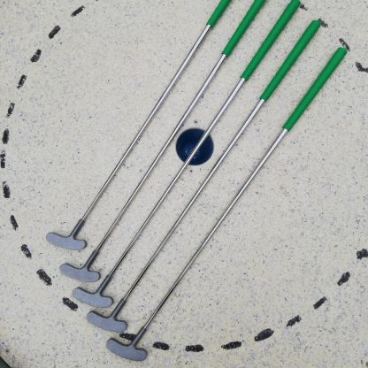 Qualitäts Minigolfschläger, 5 Stück, 85cm-1