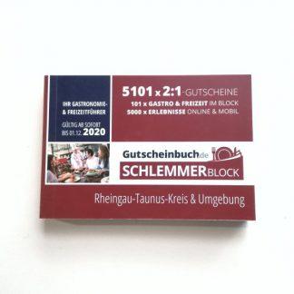 Schlemmerblock 2020 Rheingau-Taunus-Kreis & Umgebung