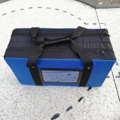 Ballcontainer für 180 Minigolfbälle blau - 1