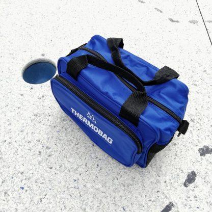 Minigolf Balltasche Thermobag blau - 3