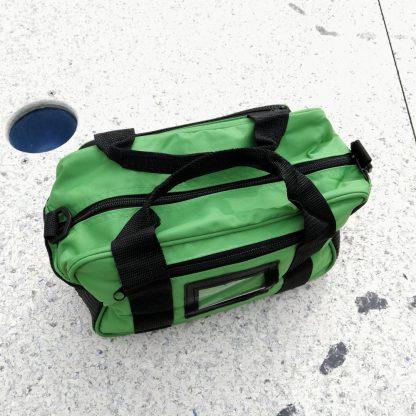 Minigolf Balltasche Thermobag grün - 1