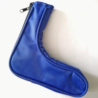 Schlägerschuh für Minigolfschläger blau