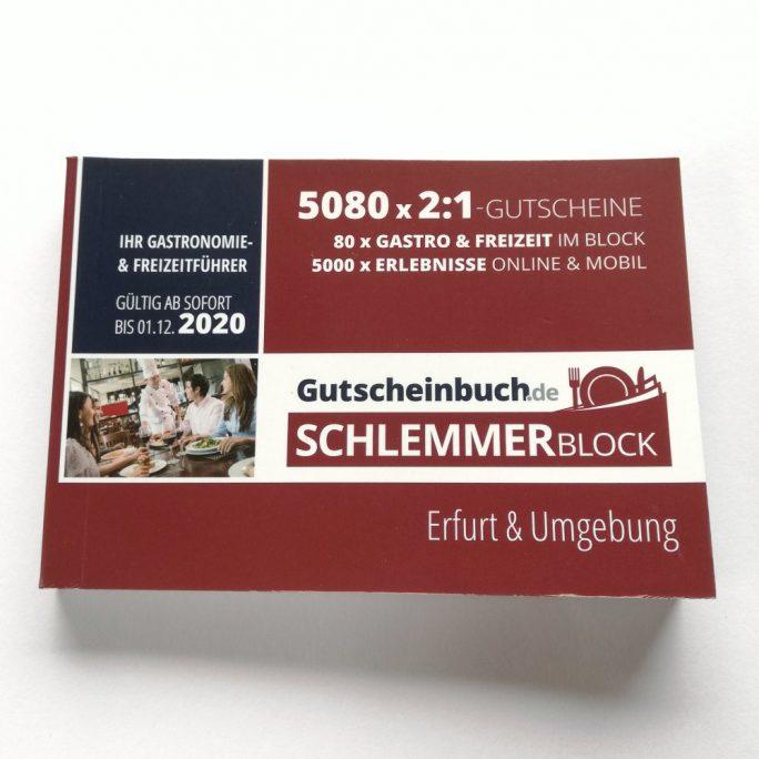 Schlemmerblock 2020 Erfurt & Umgebung