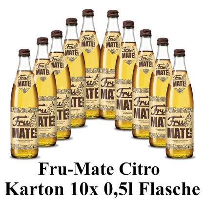Fru mate Citro 10 Flaschen je 0,5l