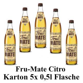 Fru mate Citro 5 Flaschen je 0,5l