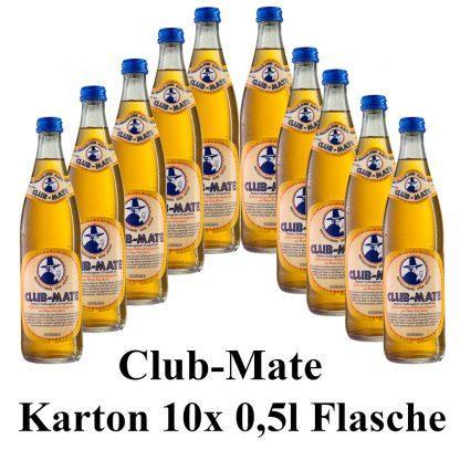 Club-mate das Original 10 Flaschen je 0,5l