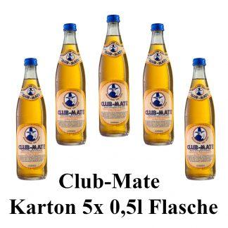 Club-mate das Original 5 Flaschen je 0,5l