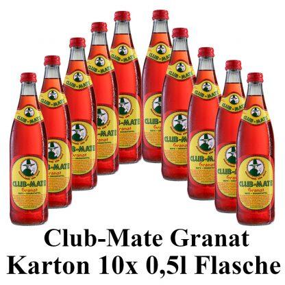 Club-mate Granatapfel 10 Flaschen je 0,5l
