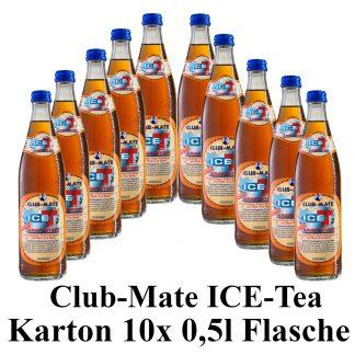 Club-mate ICE Tea Kraftstoff 10 Flaschen je 0,5l