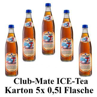 Club-mate ICE Tea Kraftstoff 5 Flaschen je 0,5l