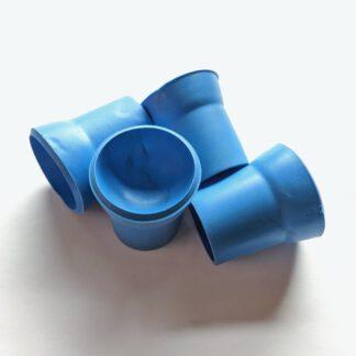 Ballaufheber Sauger für Minigolfbälle 4 Stück, blau