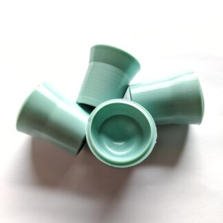 Ballaufheber Sauger für Minigolfbälle 4 Stück, türkis