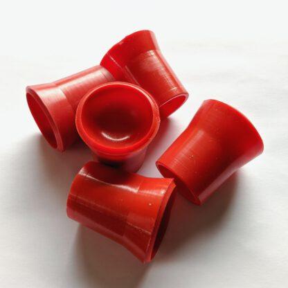 Ballaufheber Sauger für Minigolfbälle 5 Stück, rot