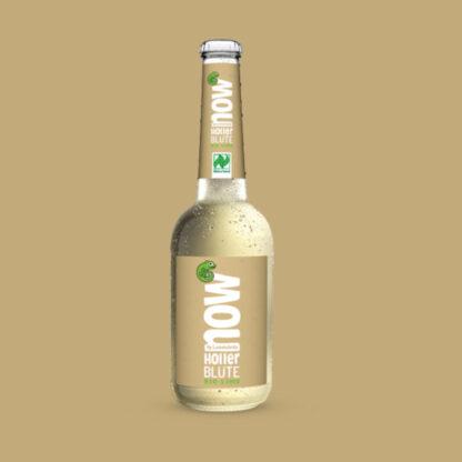 Now Holler Blüte Bio Limonade by Lammsbräu - Einzeln