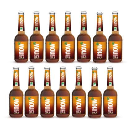 Now Orange Cola Bio Limonade by Lammsbräu, 14 Flaschen