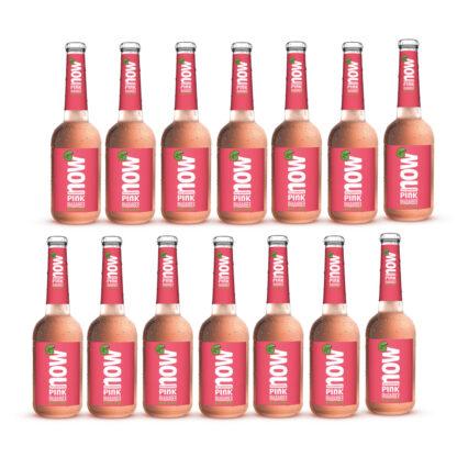 Now Apfel Rosmarin Bio Limonade by LammsbräuNow Pink Rhabarber Bio Limonade by Lammsbräu, 14 Flaschen