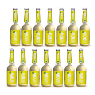 Now Pure Zitrone Bio Limonade by Lammsbräu, 14 Flaschen