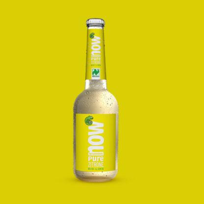 Now Pure Zitrone Bio Limonade by Lammsbräu - Einzeln