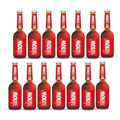 Now Red Berry Bio Limonade by Lammsbräu, 14 Flaschen