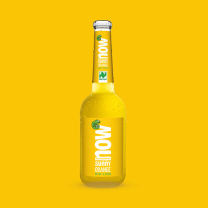 Now Sunny Orange Bio Limonade by Lammsbräu - Einzeln