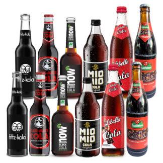 Cola Limonade Probierpaket 12 Flaschen